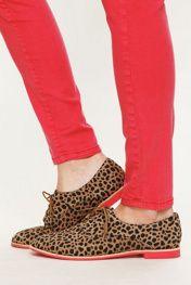 Cheetah oxfords!