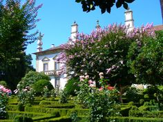 Jardim da Casa de Mateus-Vila Real-Potugal