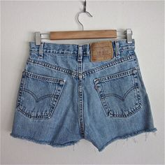 You didn't buy cut-offs at the mall. You actually cut the legs off of your jeans.