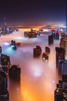 italian-luxury:  Dubai in a sea of fog |Italian-Luxury|Instagram