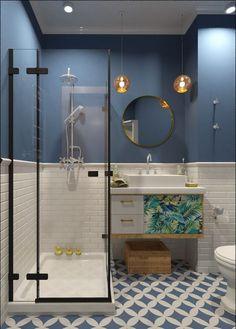 30 Amazing Small Bathroom Wall Tile Ideas To Inspire You Bathroom Layout, Bathroom Colors, Bathroom Interior Design, Modern Bathroom, Small Bathroom, Bathroom Ideas, Bathroom Remodeling, Shower Ideas, Remodeling Ideas