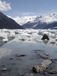 Los Glaciares National Park and a UNESCO World Heritage Site, Santa Cruz, Patagonia, Argentina