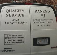 Is it ok that These 14 Businesses Are To Honest For Their Own Good?