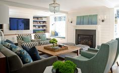 Olson Lewis Architects and Kristina Crestin Design | House of Turquoise