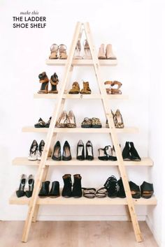 Ten Genius Do-It-Yourself Ways To Store Your Shoes - HomeTriangle