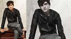 Dolce Gabbana Leather Love • Leather bomber jackets are a game changing must have.