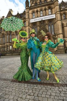 A Wicked way to paint the town Green - Manchester Evening News
