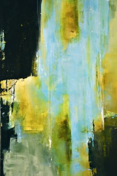 Sanctuary 40 x 30 Abstract Acrylic Painting by CharlensAbstracts