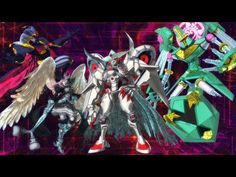 Digimon universe appli monsters #37 - Ultimate four3 - YouTube