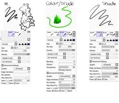 Brush Settings by Offically-Pointless