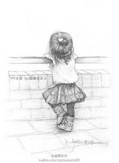 Art Discover - Festival oder eine Person zu erinnern oder um zu akzeptieren @ 宁馨 郁金香 é - Girly Drawings Art Drawings Sketches Disney Drawings Cartoon Drawings Easy Drawings Abstract Pencil Drawings Pencil Sketch Drawing Little Girl Drawing Art Corner Girl Drawing Sketches, Girly Drawings, Cool Art Drawings, Pencil Art Drawings, Easy Drawings, Pencil Sketches Of Girls, Disney Art, Disney Crafts, Cute Art