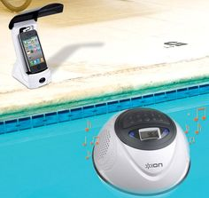 Stereo, wireless speaker and transmitter with 100-foot range; Perfect for pools, hot tubs, lakes, the British summer or bringing to the beach; Fully waterproof and submersible (level IPX7); Add up to 10 speakers from a single transmitter; Transmitter with 1/8-inch jack for connecting iPod, iPhone or other audio devices.