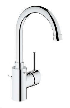 Photographic Gallery Grohe Concetto High Spout Single Lever Lavatory Centerset
