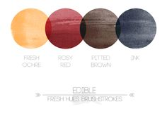 edible brushstrokes