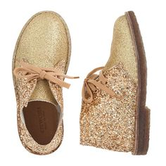 J.Crew - Girls' glitter MacAlister boots -- stupid price, though.