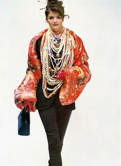SUPERMODEL SHRINE : Helena for Dolce & Gabbana, f/w 1992/93