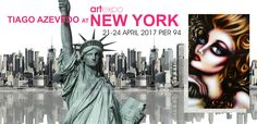 Click https://www.facebook.com/events/289325898166826/ to Join Event. Hi  my dear friends, I have created this event on facebook to invite you all to come to an Exhibit my gallery will be a part of at ArtExpo New York 2017. This exhibit will be between new the 21st and 24th of April 2017 at the Pier 94 in New York.  And I will be there to greet you. You can get your invitation ticket by subscribing at www.tiagoazevedo.com. Hope to see you soon. #newyork…