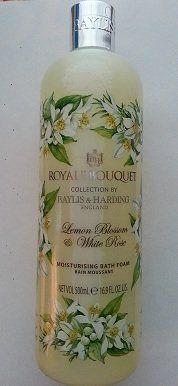 Baylis & Harding Royal Bouquet Lemon Blossom & White Rose Moisturising Bath Foam | 16.9 Fl Oz. / 500ml by Baylis & Harding. $29.99