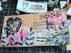 Journal Pages, Junk Journal, Paper Art, Paper Crafts, Colored Paper, Kraft Paper, Stencils, Scrap, Art Journals