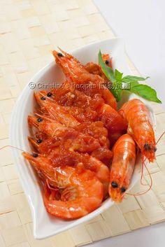 Tomato Chilli Prawns (Chinese New Year) | Christine's Recipes: Easy Chinese Recipes | Easy Recipes