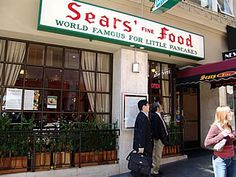 Sears Fine Food - Union Square Shopping, Dining & Travel Guide for San Francisco
