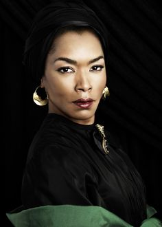 Angela Bassett ► The actress stars on American Horror Story: Coven as Marie Laveau, a real-life 19th century voodoo priestess.