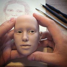 #art #bjd #craftdoll #doll #dollmaker #sculpture #polymerclay #LivingDoll #шарнирнаякукла #ручнаяработа #полимернаяглина