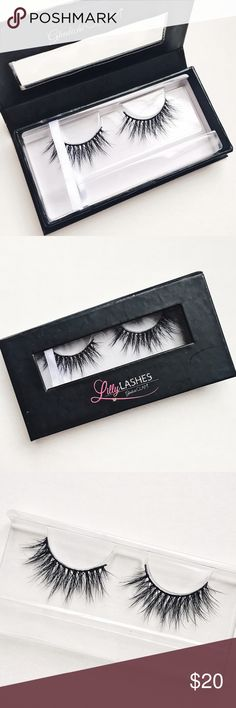Lilly Lashes 3D Mink False Eyelashes Lilly Lashes 3D Mink False Eyelashes ▫️ NWT ▫️ Never Used ▫️ No Style Name ▫️ Bought during Sample Sale ▫️ Packaging is scuffed up from being in makeup drawer for a few months, but lashes are in perfect condition. ▫️ Bundle Discount: 15% off 3 items or more ▫️ No Trades Lilly Lashes Makeup False Eyelashes