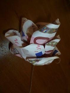 GELD Bloem van geldbriefjes