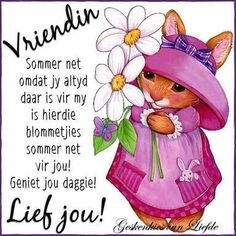 Discover recipes, home ideas, style inspiration and other ideas to try. Happy Birthday Meme, Happy Birthday Sister, Good Night Wishes, Good Night Quotes, Friend Friendship, Friendship Quotes, Family Rules Sign, Afrikaanse Quotes, Goeie More