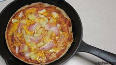 Hawaiian Tortilla Pizza..Such an Easy and Cheap Dinner the Whole Family will Love!