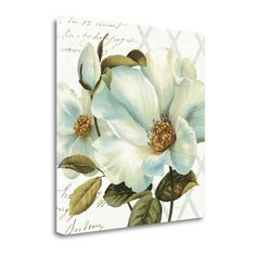 Tangletown Fine Art Floral Bliss II By Lisa Audit, Gallery Wrap Canvas
