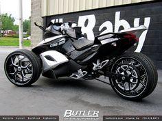 can am spyder bikes pinterest cars trike motorcycle. Black Bedroom Furniture Sets. Home Design Ideas