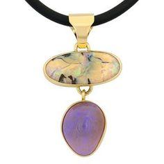 Boulder & crystal opal combo... #lostseaopals #opal #lightningridge #gemstone #lucky #wishlist #love #gold #design #designer #jewellery #crystalopal #boulderopal #australia #nationalgemstone #pendant #jeweller