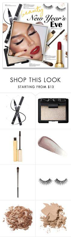 """NYE Beauty"" by kellylynne68 ❤ liked on Polyvore featuring beauty, NARS Cosmetics, Stila, Yves Saint Laurent, Urban Decay, Huda Beauty, Bobbi Brown Cosmetics, Beauty, makeup and nye"