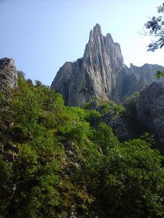 The highest peak in the Torda Gorge near Kolozsvár.