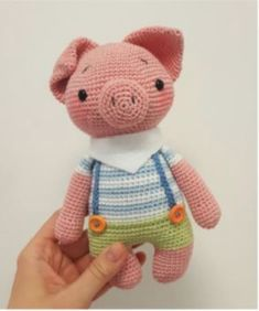 How to Make Amigurumi Piggy