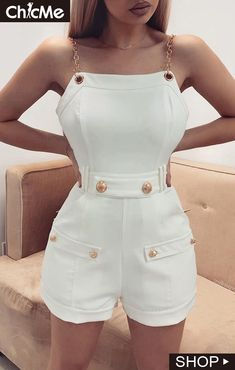 Sexy Bodycon Streetwear Back Zipper Playsuit Fashion Party Club Romper – TopFashionova Mode Ootd, Outfit Trends, Rompers Women, Pattern Fashion, Ideias Fashion, Street Wear, Fashion Dresses, Fashion Clothes, Cute Outfits
