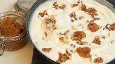 Iskrem laget uten egg, men med fløte, søt kondensert melk og vanilje.