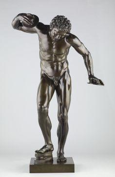 Pietro Cipriani (Italian, about 1680 - before 1745), Dancing Faun, Italian, 1722 - 1724, Bronze, 143.5 cm (56 1/2 in.), 2008.41.2.