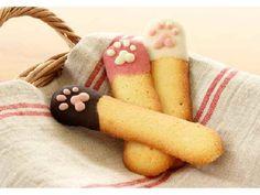 肉球がクッキーについた!「猫の舌」ついた肉球が可愛い「ねこの手ラングドシャ」新登場! - Peachy - ライブドアニュース