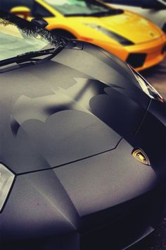 Batman Edition Matte Black Aventador