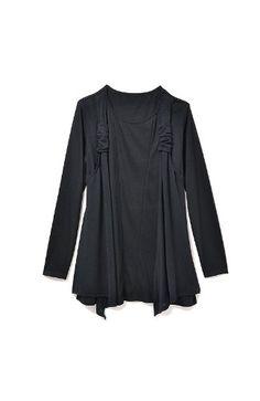 Amazon.co.jp: 雑誌編集者マダムクミコが贈る 攻めの視覚マジックラージサイズファッション (ブラック): 服&ファッション小物通販
