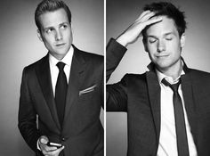 I love me some Suits and these two - Gabriel Macht and Patrick J Adams