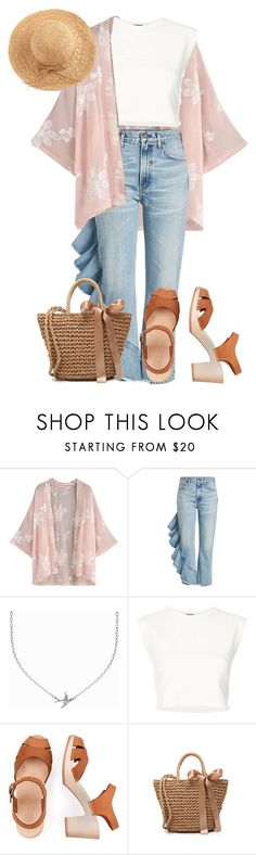 """""""// 182."""" by peachydean ❤ liked on Polyvore featuring Citizens of Humanity, Minnie Grace, Puma and WithChic"""