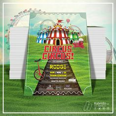 Circus, Circus at the Beirut Old Train Station  Artwork design by Kaleido.co