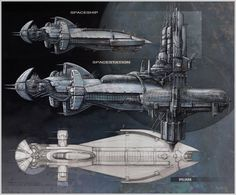 ArtStation - Nexus Spaceship concepts, Károly Gőgös