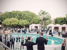 Wedding Reception Etiquette: What's the Basic Wedding Reception Timeline? | Photo by: Matthew David Studio | TheKnot.com