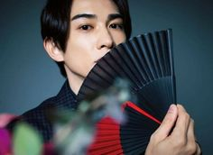 Asian Boys, Cute Guys, Hand Fan, Baekhyun, Husband, Actors, Photo And Video, Cherry, Instagram