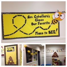 BEE A Reader Bulletin Board Idea Is Cute Love The Color Scheme